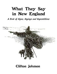 What They Say in New England: A Book of Signs, Sayings and Super