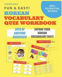 Fun and Easy! Korean Vocabulary Quiz Workbook