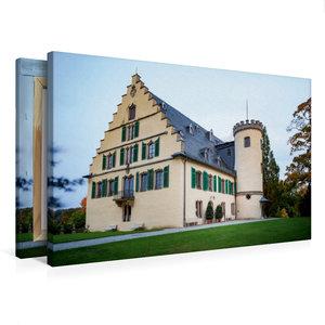 Premium Textil-Leinwand 75 cm x 50 cm quer Schloss Rosenau