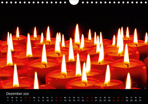 Rot. Rot. Rot (Wandkalender 2020 DIN A4 quer)