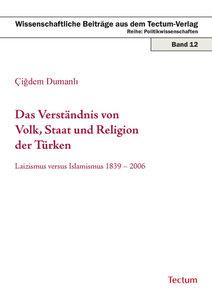 Das Verständnis von Volk, Staat und Religion der Türken