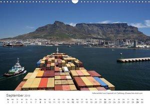 Faszination Schifffahrt ? An Bord um die Welt (Wandkalender 2019