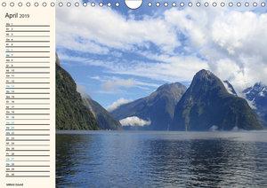 Neuseeland - unterwegs im Land der \'Kiwis\' (Wandkalender 2019