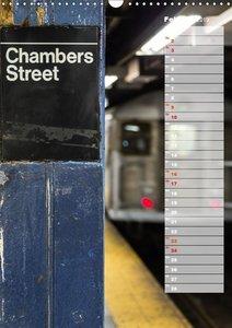 New York City Geburtstagskalender (Wandkalender 2019 DIN A3 hoch