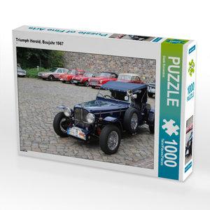 CALVENDO Puzzle Triumph Herold, Baujahr 1967 1000 Teile Lege-Grö