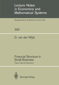 Financial Structure in Small Business