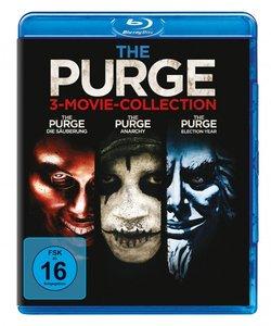 The Purge Trilogy, 3 Blu-ray