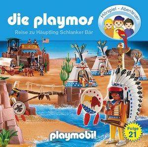 Die Playmos - Reise zu Häuptling Schlanker Bär, 1 Audio-CD