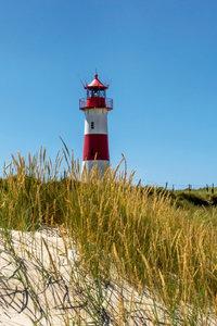 Premium Textil-Leinwand 50 cm x 75 cm hoch Leuchtturm