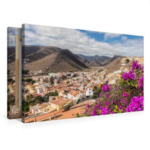 Premium Textil-Leinwand 75 cm x 50 cm quer San Sebastian