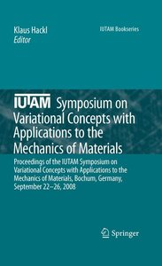 IUTAM Symposium on Variational Concepts with Applications to the