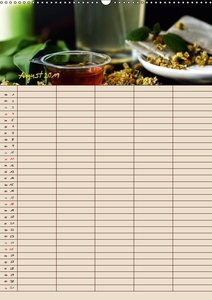 Tee - Liebhaber Jahresplaner (Wandkalender 2019 DIN A2 hoch)