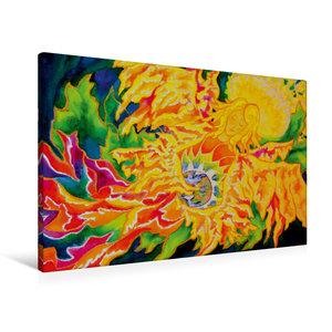 Premium Textil-Leinwand 90 cm x 60 cm quer Friede sei mit euch