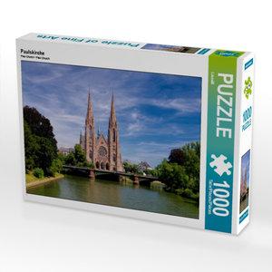 Paulskirche 1000 Teile Puzzle quer