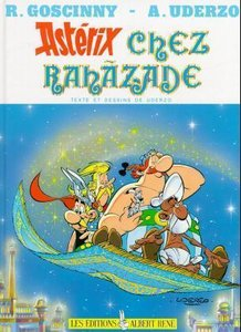 Asterix Chez Rahazade - Ren? Goscinny - Hardcover - French Editi