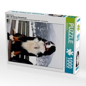 Ein Motiv aus dem Kalender BÄR - Der Berner Sennenhund 1000 Teil