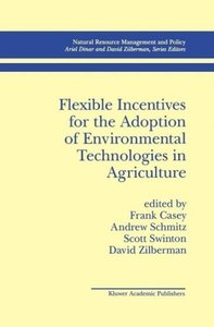 Flexible Incentives for the Adoption of Environmental Technologi