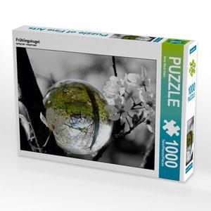Frühlingskugel 1000 Teile Puzzle quer