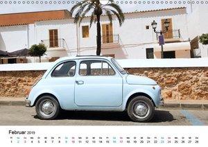 Fiat Cinquecento im Fokus (Wandkalender 2019 DIN A3 quer)
