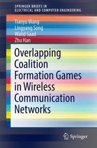 Overlapping Coalition Formation Games in Wireless Communication