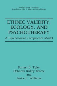 Ethnic Validity, Ecology, and Psychotherapy