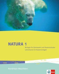 Natura 1 - Biologie für Gymnasien. Lehrerband mit DVD-ROM 5./6.