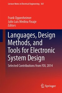 Languages, Design Methods, and Tools for Electronic System Desig