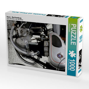 CALVENDO Puzzle Horex - Bad Homburg 1000 Teile Lege-Größe 64 x 4