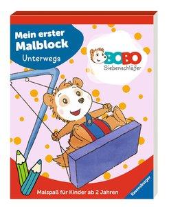 Bobo Siebenschläfer: Mein erster Malblock Unterwegs