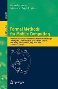 Formal Methods for Mobile Computing