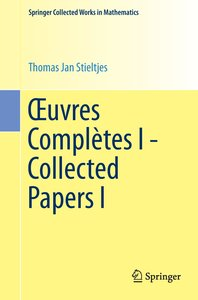 OEuvres Complètes I - Collected Papers I