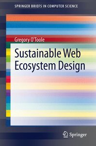 Sustainable Web Ecosystem Design