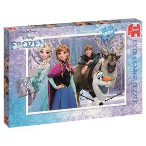 Disney 17381 - Frozen Puzzle 100 Teile, XL