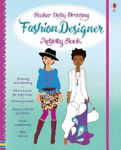 Sticker Dolly Fashion Designer Activity Book