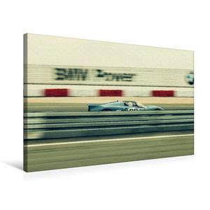 Premium Textil-Leinwand 75 cm x 50 cm quer High Speed Racing