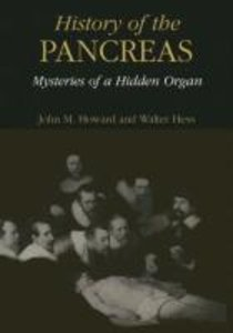 History of the Pancreas: Mysteries of a Hidden Organ