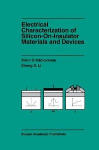 Electrical Characterization of Silicon-on-Insulator Materials an
