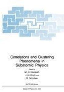 Correlations and Clustering Phenomena in Subatomic Physics