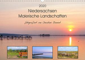 Niedersachsen - Malerische Landschaften (Wandkalender 2020 DIN A