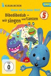 Dibedibedab-Singen U.Tanzen-Kikaninchen-DVD 5