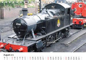 Nostalgische Eisenbahnen Englands (Tischkalender 2019 DIN A5 que