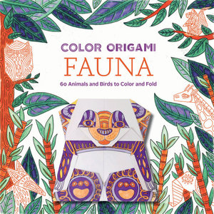 Color Origami: Fauna (Origami Coloring Book)