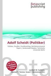 Adolf Scheidt (Politiker)
