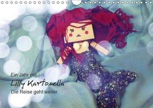 Ein Jahr mit Lilly Kartonella - Die Reise geht weiter (Wandkalen