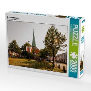 CALVENDO Puzzle St. Lorenz Kirche 2000 Teile Lege-Größe 90 x 67
