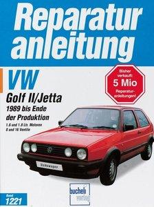VW Golf II/ Jetta ab Baujahr 1989 bis Ende der Produktion
