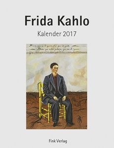 Frida Kahlo 2017. Kunstkarten-Einsteckkalender