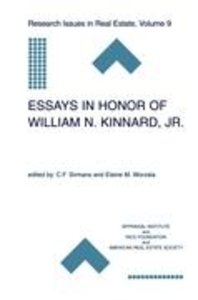 Essays in Honor of William N. Kinnard, Jr.