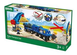 BRIO 33812000 Polizei Goldtransport-Set