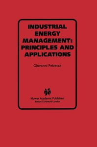 Industrial Energy Management: Principles and Applications